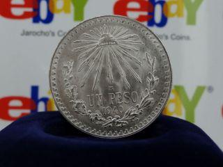 Peso Silver Coin, Mexico Phrygian Series KM#455 stock# (19)