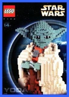 LEGO BAUANLEITUNG 7194 Star Wars Yoda Figure 472