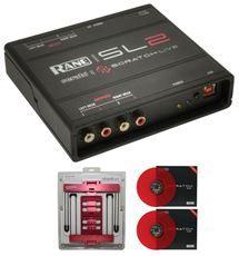 RANE SL2 SERATO SCRATCH LIVE+UBERSTAND RED+SL 2 VINYLS