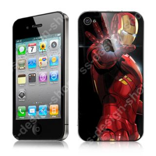 The Avengers Iron Man iPhone 4 / 4S Decal Sticker Skins Protector