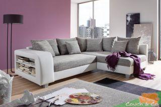 Loungesofa Wohnlandschaft Sofa Couch Ecksofa Eckcouch Silas NEU