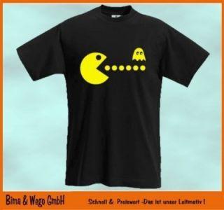 PACMAN Kult T Shirt Pac Man 80ger Gamer Shirt Atari 474