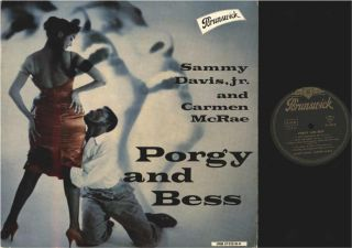 LP / SAMMY DAVIS JR. & CARMEN MCRAE / PORGY AND BESS / BRUNSWICK LPBM