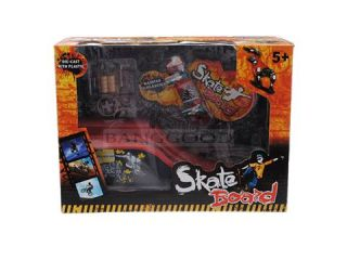 Finger Board Tech Skateboard boy toys with Stunt Ramp Deck and Tool