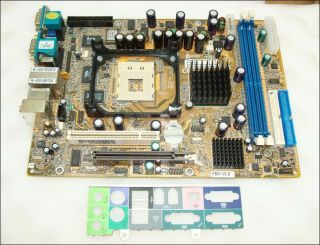Shuttle XPC SS51G / FS51 REV2.0 Socket 478 Motherboard