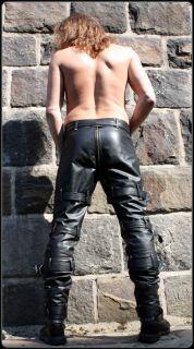Lederhose echt Leder Hose leather pants lederen broek pantalon en cuir