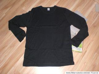 Damen Herren Unisex Ski Unterwäsche Langarm Shirt Unterhemd Grau Gr