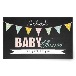 Chalkboard Baby Shower Gender Neutral Trendy Invitation
