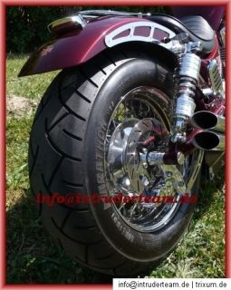 Felge VA poliert Suzuki Intruder VS1400 6.00x15 für 200er Reifen