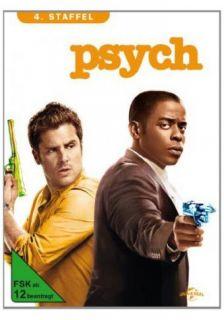 Psych   Season/Staffel 4   4 DVD BOX NEU OVP