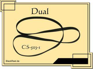 Dual CS 503 1 Riemen Plattenspieler Record Player