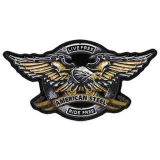 Aufnäher Patch Iron Eagle Harley Davidson Motorrad gestickt