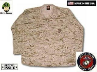US Marine Corps USMC MARPATDesert Digital Army Jacke coat ML