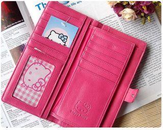 Neu Hello Kitty Geldbörse 9x18cm Brieftasche wallet new