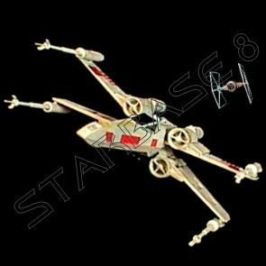 RED FIVE X WING STARFIGHTER (1/144) F toys Modell   STAR WARS
