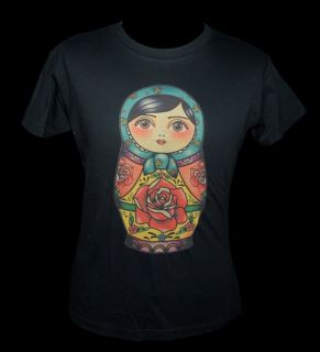 Babuschka Matroschka Styles & More SHIRT Tattoo Trash Kitsch süß