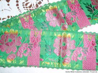 Schwalm Schwälmer rach Seidenband 1900 Hessen Folk Cosume silk