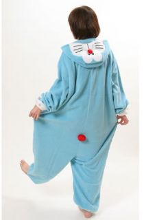 Japan Doraemon costume Kigurumi pajamas Halloween Costumes Genuine NEW