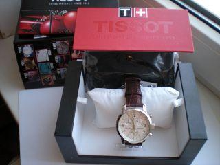 neu HERRENUHR watch Tissot PRC 200 T17 1 516 32 Chronograph SAPHIRGLAS