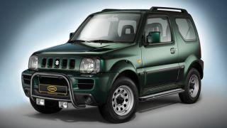 Cobra Frontbügel schwarz EG   Genehmigung Suzuki Jimny