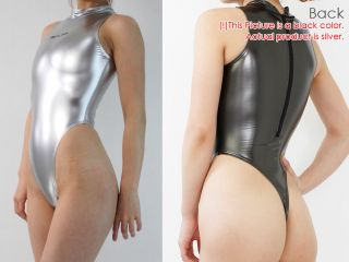 JAPAN REALISE [Size:LL]Super Shiny Rubber Swimsuit Badeanzug Leotard