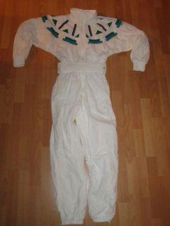 Adidas Trainingsanzug Einteiler Overall Jacke Hose Vintage Trash Weiß