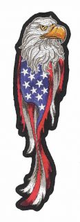 Aufnäher USA Adler Eagle Patch 18x5 cm www wtmt de Patches