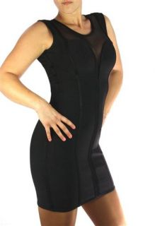 Sexy Damen Designer Bandagen Kleid Bandage Dress Megan Fox Mesh