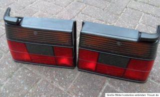 original VW Jetta II 2 Hella Rückleuchten in Schwarz Rot GTI G60 VR6