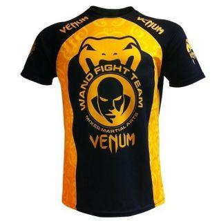 Venum T Shirt Wand Training Wanderlei Silva Dry Fit schwarz S/M/L/XL