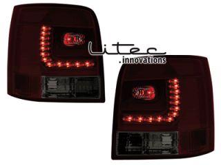 LITEC LED RÜCKLEUCHTEN VW PASSAT 3B + 3BG ROT / SMOKE