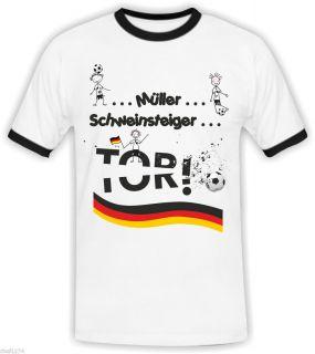 EM Deutschland   Fan T Shirt   Trikot Fanshirt Herren Fussball
