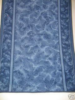Teppich Läufer nach Maß kaufen blau ROWA 533 80 breit