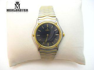 530 Ebel Classic Wave Herrenuhr HAU medium Stahl Gelbgold Gold Ref