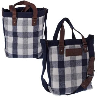 Abercrombie & Fitch Tasche Shopper Blue Check 541 1322 29 50607
