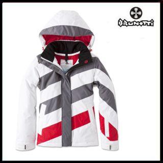 Brunotti Jethros Womens Jacket white/red