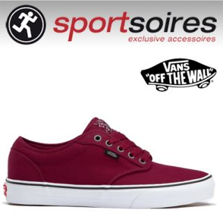 VANS ATWOOD CHILI PEPPER CANVAS SKATE CLASSIC UNISEX SNEAKER SCHUHE