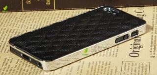 DELUXE LUXUS LEDER HÜLLE TASCHE + 2 x SCHUTZFOLIE FÜR APPLE IPHONE 5
