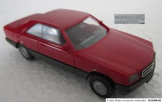 HERPA Modellauto 187 MERCEDES BENZ 560 SEC Klassiker