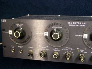 UREI 565 Filter Set! Little Dipper Amazing vintage FX !!