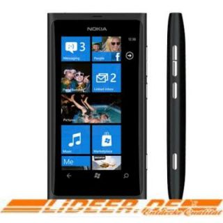 Nokia 800 Lumia (matt black) NEU*OVP*Ohne Simlock*Ohne Branding*Ohne