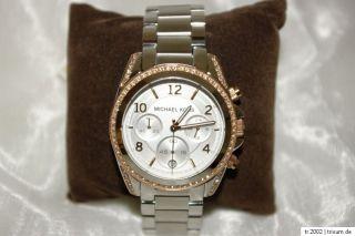 Michael Kors Damen Uhr Chronograph MK 5459 BLAIR Edelstahl rosegold