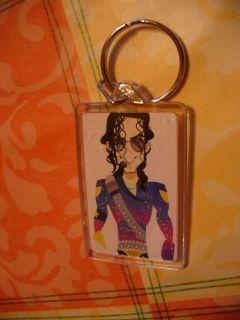 Schlüsselanhänger   Michael Jackson   Comic   Musik   King of Pop