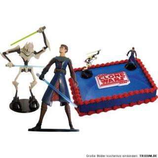 STAR WARS Party Deko ANAKIN & General Grievous Kuchendeko Geburtstag