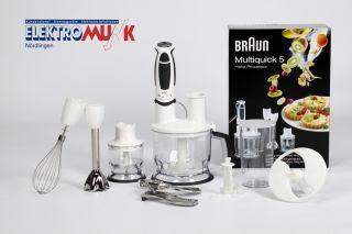 Braun Multiquick 5 Stabmixer MR 570 Patisserie + NEU +