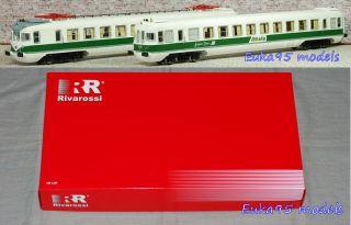 RIVAROSSI HR2353   COPPIA ELETTROMOTRICI ALe 601 E Le 601 ALITALIA H0
