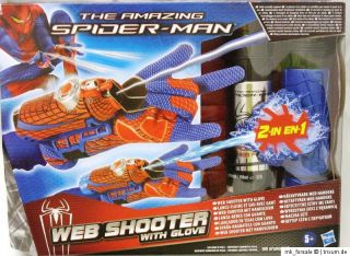 Spiderman The amazing Spider Man Web Shooter mit Handschuh