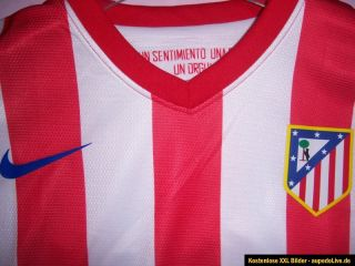 Atlético Madrid Heim Trikot AUTHENTIC VERSION 2012/2013 Falcao #9 NEU