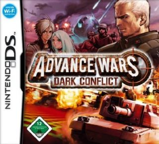 ADVANCE WARS   DARK CONFLICT (Nintendo DS Lite/Dsi/3DS/XL Spiel
