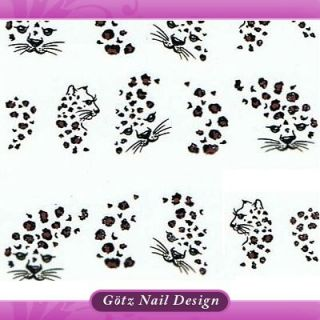 One Stroke Sticker   Pinsel Malerei Tattoo   Nail Art #581